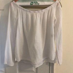 Cloth & Stone White Blouse, Size S